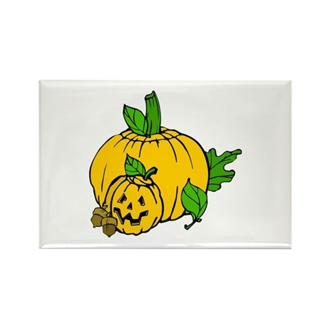 Jack 0 Lantern Rectangle Magnet