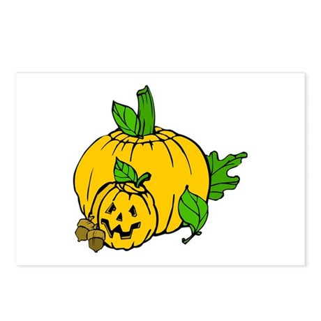 Jack 0 Lantern Postcards (Package of 8)