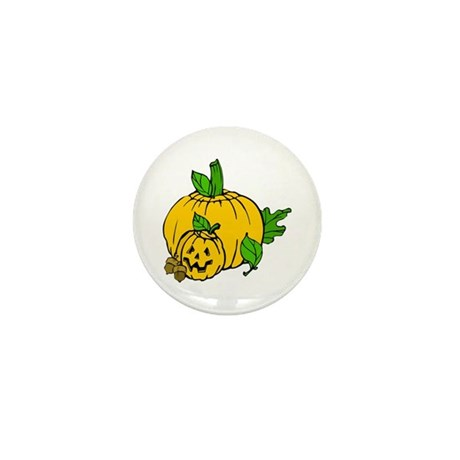 Jack 0 Lantern Mini Button (100 pack)