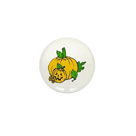 Jack 0 Lantern Mini Button