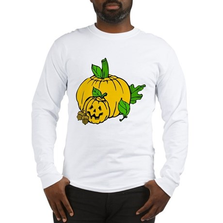 Jack 0 Lantern Long Sleeve T-Shirt