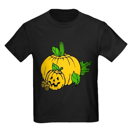Jack 0 Lantern Kids Dark T-Shirt