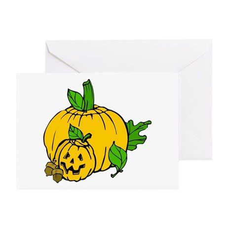 Jack 0 Lantern Greeting Card