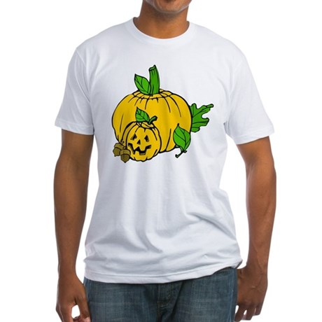 Jack 0 Lantern Fitted T-Shirt