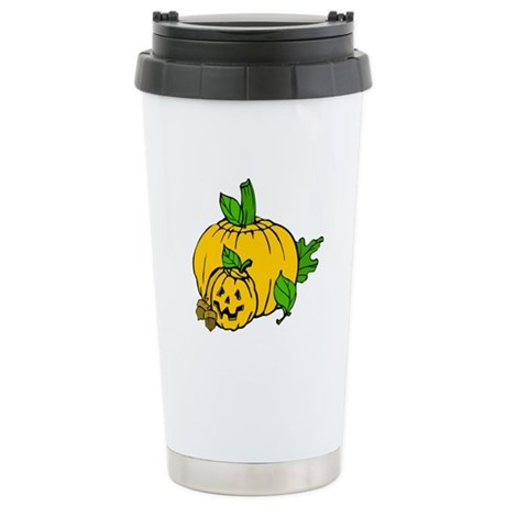 Jack 0 Lantern Ceramic Travel Mug