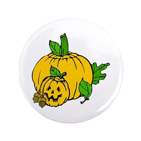 "Jack 0 Lantern 3.5"" Button (100 pack)"
