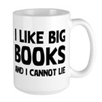 I Big Books Large Mug