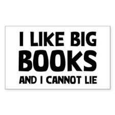 I Like Books Decal
