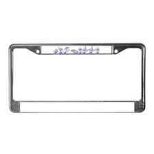 Michelle- bl-asl License Plate Frame