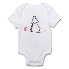 Mouse Looking Up Infant Bodysuit