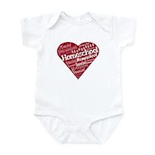 Homeschool Heart Infant Bodysuit
