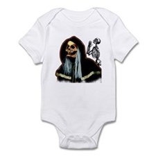 Happy Halloween Face Infant Bodysuit