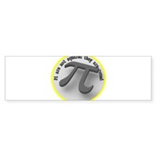 Pi are not squared Bumper Sticker (10 pk)