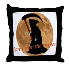 Halloween Moon don't fear the Throw Pillow
