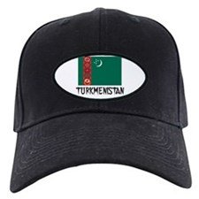 Turkmenistan Flag Baseball Hat