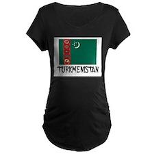 Turkmenistan Flag T-Shirt