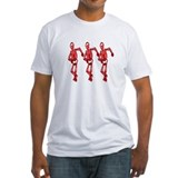 Halloween 3 skeletons dancing Shirt
