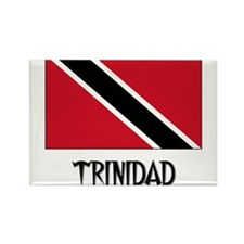 Trinidad Flag Rectangle Magnet