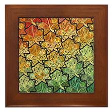 Celtic Leaf Transformation Framed Tile