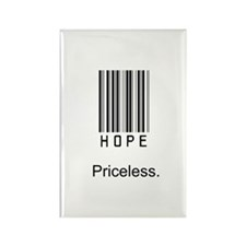 Hope is Priceless Rectangle Magnet (10 pack)