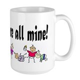 All Mine (8 Kids) Mug