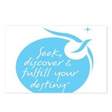 Seek, Discover & Fulfill Your Destiny Postcards (P