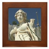 The Goddess Diana with sacred Vervain -Framed Tile