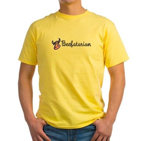 Beefatarian Yellow T-Shirt