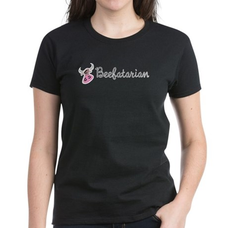 Beefatarian Women's Dark T-Shirt