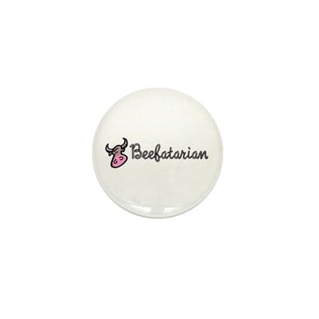 Beefatarian Mini Button