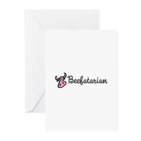 Beefatarian Greeting Cards (Pk of 10)