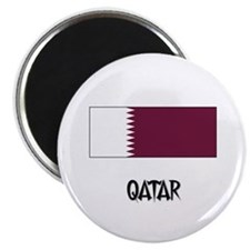 "Qatar Flag 2.25"" Magnet (10 pack)"