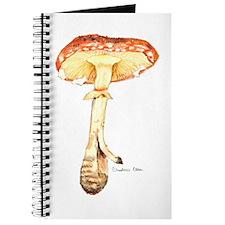 Cute Toadstool Journal