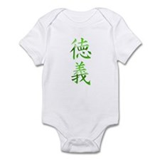 Morality-Integrity Kanji Infant Bodysuit