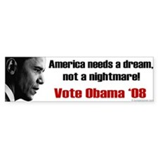 America Needs a Dream Bumper Sticker (10 pk)