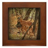 Deer Framed Tile