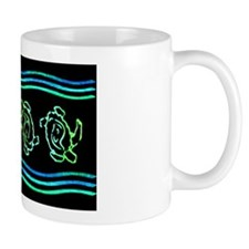 Turtles in Waves Mug