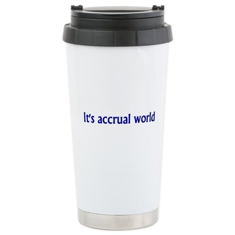 Accountant Ceramic Travel Mug