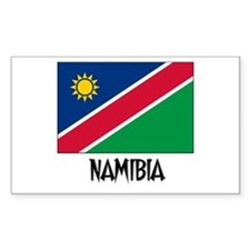 Namibia Flag Rectangle Decal