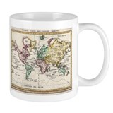 German Map of the World, 1800 Coffee Mug