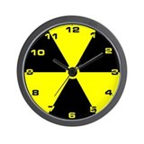 Cute Radioactive Wall Clock