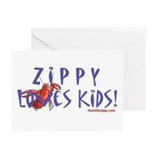 Fun With Zippy Greeting Cards (Pk of 10)