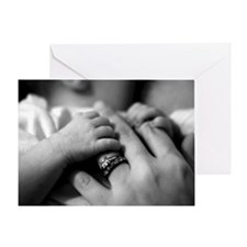 Baby's Precious Fingers Greeting Card