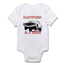 AFTM Happiness Is A Hemi Infant Bodysuit
