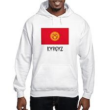 Kyrgyz Flag Hoodie