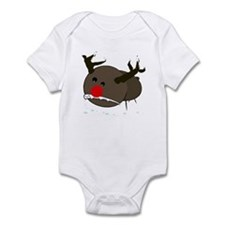 christmas misfits rudy Infant Bodysuit
