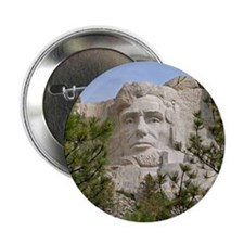 "Rushmore Abe 2.25"" Button"