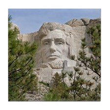 Rushmore Abe Tile Coaster