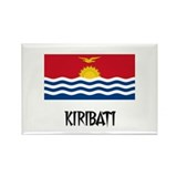 Kiribati Flag Rectangle Magnet (10 pack)