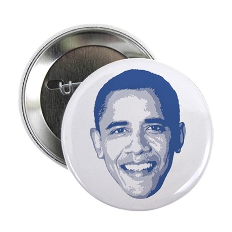 "Obama Face 2.25"" Button"